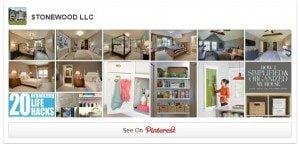 Stonewood LLC is on Pinterest!