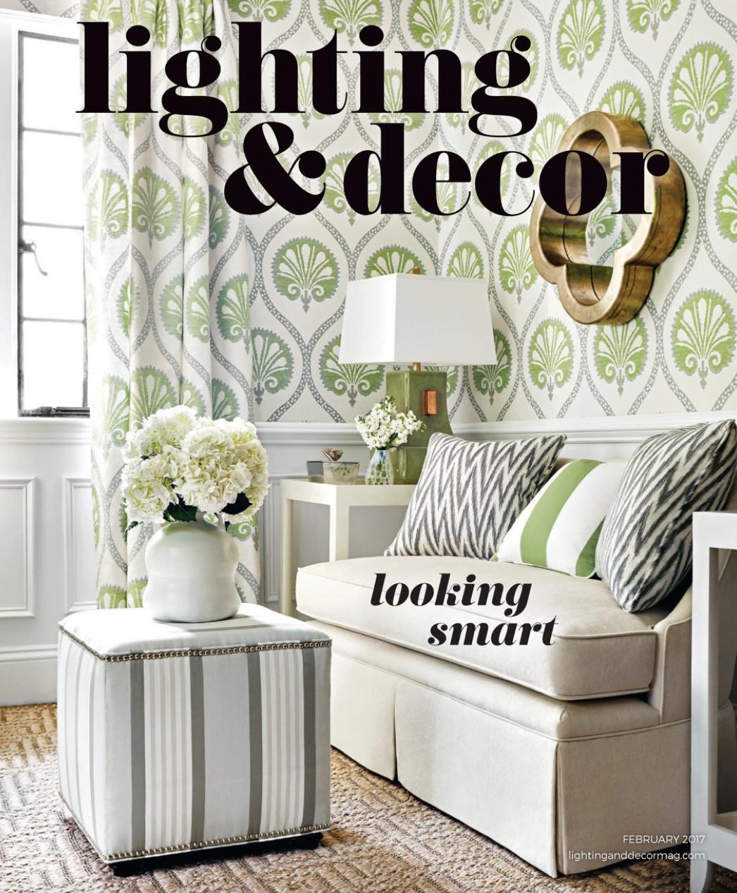 Lighting & Decor Magazine Features Stonewood