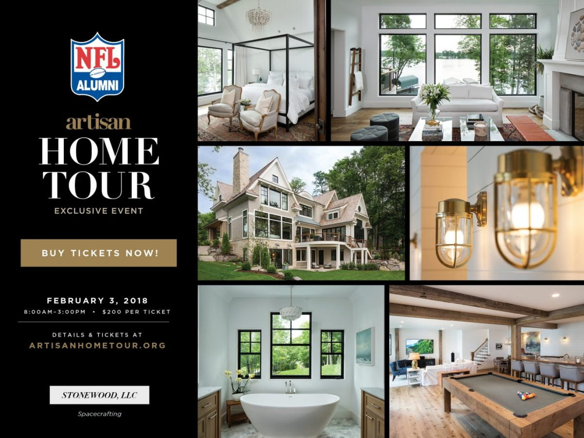 NFL Alumni Home tour – Get your tickets soon!