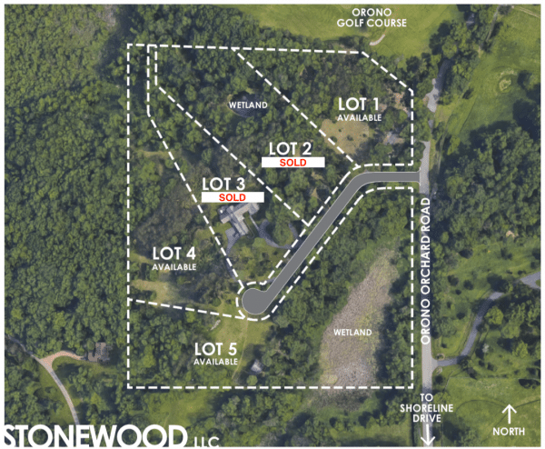 Orchard Hill Available lots in Orono MN. Orono school district