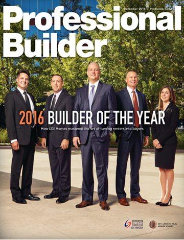 Professional Builder 2016