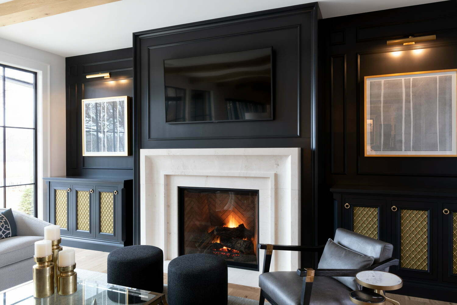 Fireplace Surrounds by Stonewood Handcrafted Custom Homes